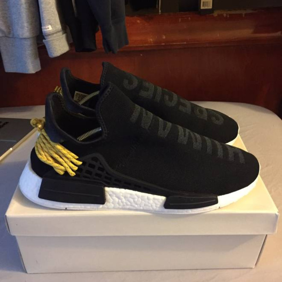 innovative design 70132 6adf7 Human Race Black NMD Adidas x Pharrell Size 11 NWT
